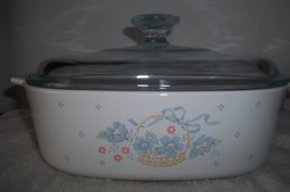 Country Cornflower A-2-B 2 Liter Casserole Dish With Lid - $64.33