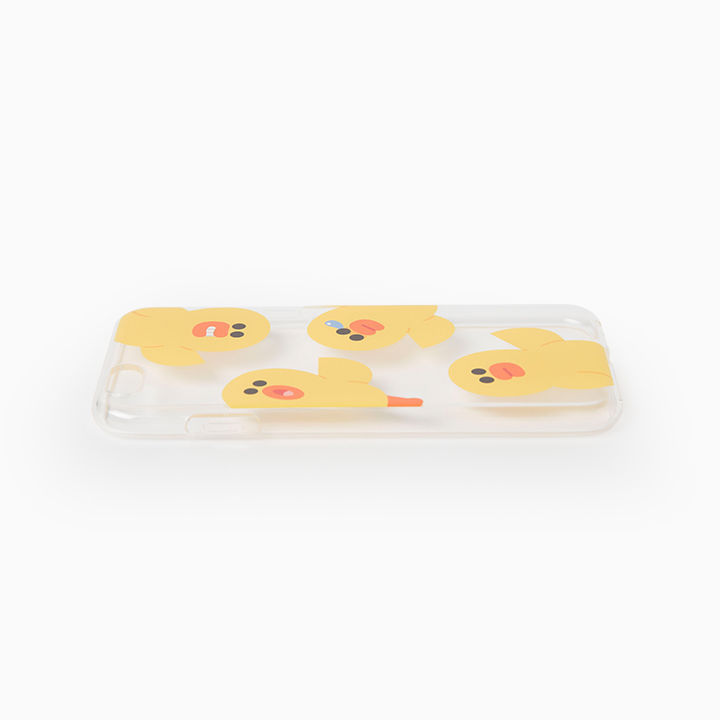 LINE Friends Big SALLY Jelly iPhone Case SE/5/5s/6/6s/Plus Mobile Cover Acc