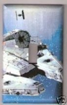 Single Light Switch Plate Cover of Star Wars Ship - $6.75
