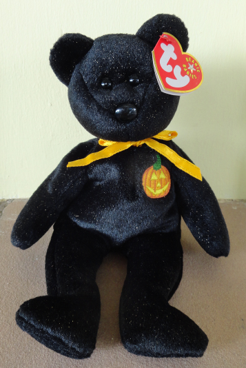 11435cade4a Haunt Black Bear Ty Beanie Baby Babies and 50 similar items