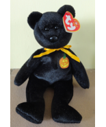 HAUNT Black Bear TY Beanie Baby Babies HALLOWEEN 2001  - $4.99