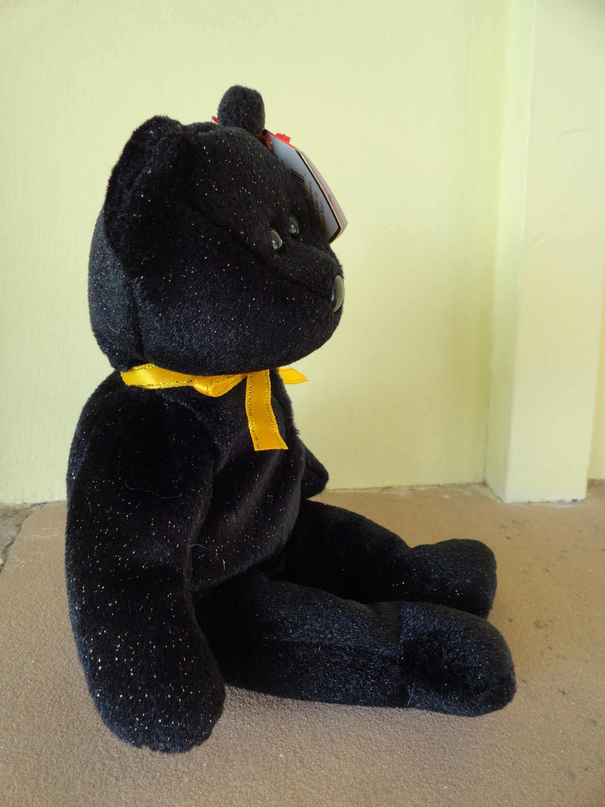 2dc139b21c5 Haunt Black Bear Ty Beanie Baby Babies and 50 similar items