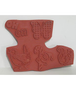 Rubber Stamp Unmounted 5 Designs - $6.38