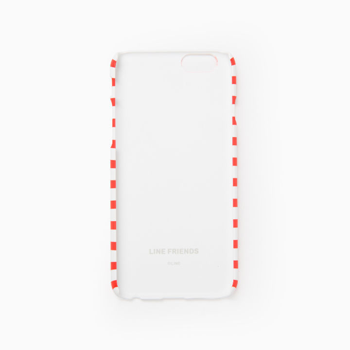 LINE Friends CONY Cupcake Strip iPhone Hard Case SE/5/5s/6/6s/Plus Cover Mobile