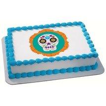 1/4 Sheet - Luis Fitch Dia de los Muertos Birthday - Edible Image Cake/C... - $8.50