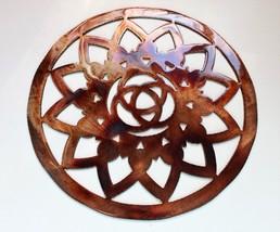 "Ornamental Sun Circle Metal Wall Decor 8"" - $14.99"