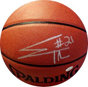 Evan Turner signed Indoor/Outdoor Basketball