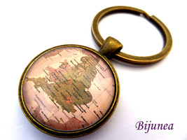 United Kingdom map keychain - Map United Kingdo... - $11.90