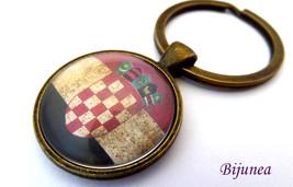 Croatia keychain - Country Croatia keychain - W... - $11.90