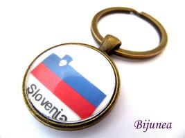 Slovenia keychain - Country Slovenia keychain -... - $11.90