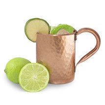 100% Pure Copper 450 ML/15 Oz Moscow Mule Vodka Beer Mug Hammered Style -m3 - $19.94 CAD