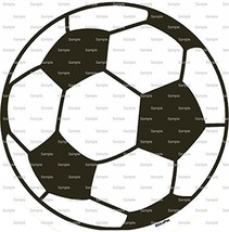 """8"""" Round - Soccer Ball Birthday - Edible Image Cake/Cupcake Party Topper!!! - $8.50"""
