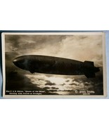 Real Photo Postcard of Zeppelin U.S.S. Akron in... - $24.70