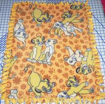 "Disney The Lion King Simba Nala Fleece Baby Blanket Pet Lap 30""x24""  - $39.95"