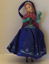 Frozen Anna Disney Glass Blown Christmas Tree Ornament Holiday Decor - $23.36