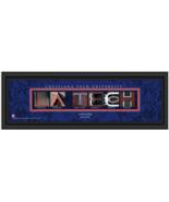 Personalized Louisiana Tech University Bulldogs Campus Letter Art Framed... - $39.95