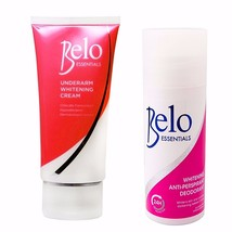 Belo Essentials Underarm Whitening Set- Roll-On... - $28.46