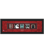 Personalized Brown University Bears 8 x 24 Campus Letter Art Framed Print - $39.95