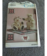 Simplicity Crafts Vintage 7710 Small Collector Bear And Mini Bear Se... - $6.99