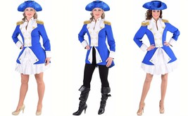 Ladies Napoleonic / Soldier Jacket - Blue. Sizes 6- 22 - $50.39+