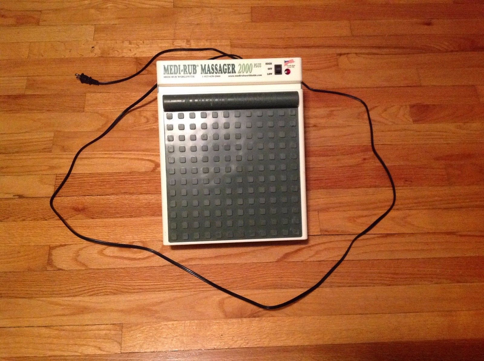 Vintage Medi-Rub 2000 Plus Two Speed Foot Massager