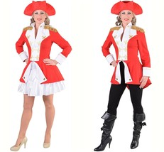 Ladies Napoleonic / Soldier Jacket - Red. Sizes 6- 22 image 1