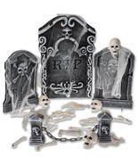 Halloween Outdoor Decoration Animated Horror Graveyard Hanging Party Sca... - $29.69