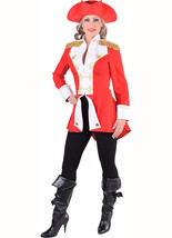 Ladies Napoleonic / Soldier Jacket - Red. Sizes 6- 22 image 3