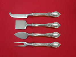 Charlemagne by Towle Sterling Silver Cheese Serving Set 4 Piece HHWS  Custom - $289.00