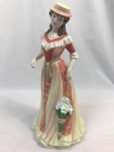 Royal Doulton Bonito Mujer Summer's Darling HN4851 Estatuilla de 2005 - $39.98