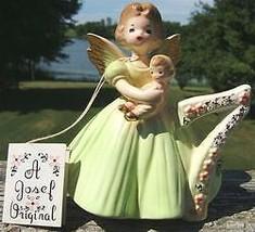 VINTAGE JOSEF ORIGINAL 7TH YEAR BIRTHDAY ANGEL FIGURINE - $122.99