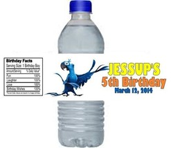 Rio Birthday Party Water Bottle Labels Favors Personalized Custom - $4.50