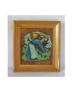 Pair Albert Gilles Arts & Crafts Copper Enamel ... - $93.10