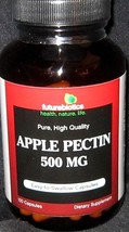 Dietary Supplement Futurebiotics Apple Pectin 500 Mg Capsules 100CT MSRP $23.49 - $3.96