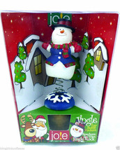 Cork Bottle Rocker Frosty the Snowman Jingle Top Holiday Gift Idea - £7.01 GBP