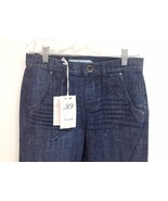 NEW NWT Level 99 Anthropologie Blue Denim Mid R... - $22.49