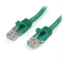Startech Green Cat5e Snagless Utp Patch Cable - $6.94