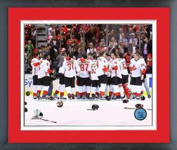 Team Canada Takes It All 2016 World Cup of Hockey-11x14 Matted/Framed Photo - $42.95
