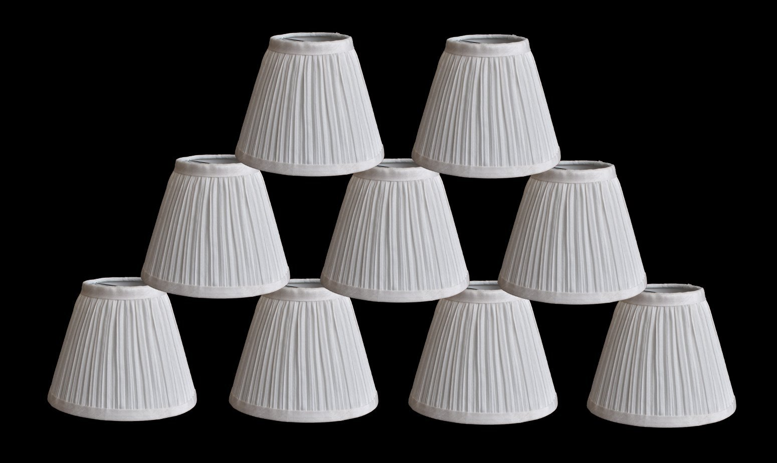 chandelier lamp shade 3 inch top by 6 inch by 5 inch random lamps. Black Bedroom Furniture Sets. Home Design Ideas