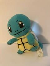 "VTG 1998 Pokemon SQUIRTLE  Nintendo Tortoise Turtle Plush 6"" Game Freak - $4.90"