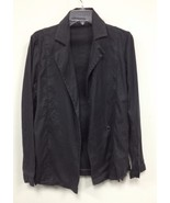 New Level 99 Anthropologie Dark Gray Linen Blen... - $35.00