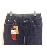 NEW NWT Level 99 Anthropologie Blue Denim Low Rise Flare Jean Size 0 $12... - $19.55