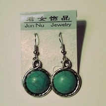 Crazy Cheap Wholesale Lot 24 Pairs Turquoise Ca... - $15.15