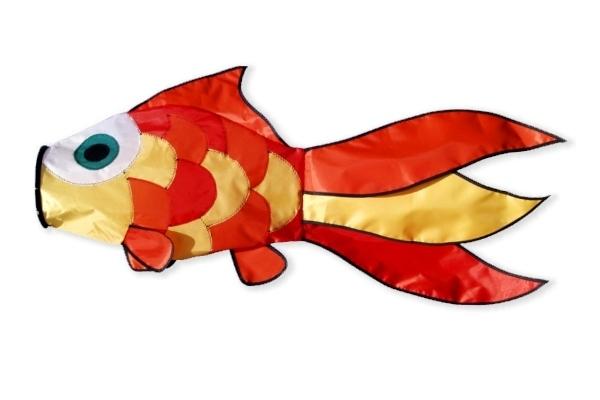 gold fish windsock large fish windsock other. Black Bedroom Furniture Sets. Home Design Ideas