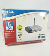 D-Link AirPlus G DI-524 Wireless Wi-Fi Router 802.11b/g Brand New - $26.95