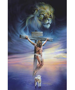 The crucifixion cross stitch pattern thumbtall