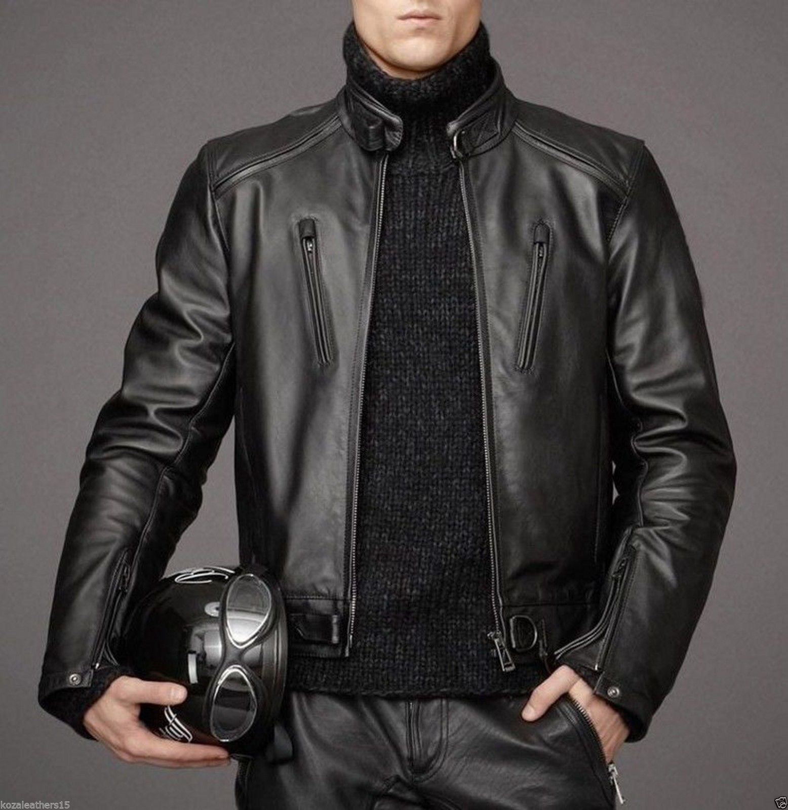 Authentic leather jackets