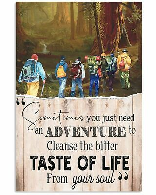 Primary image for Taste Of Life From Your Sould Poster, For Bedroom, Great Gift For Explorer