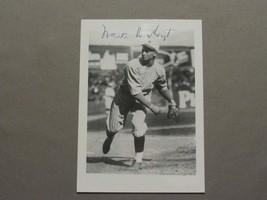 Waite Hoyt 1927 Wsc Yankees Hof Pitcher Signed Auto Index & Photo Combo Jsa - $79.19