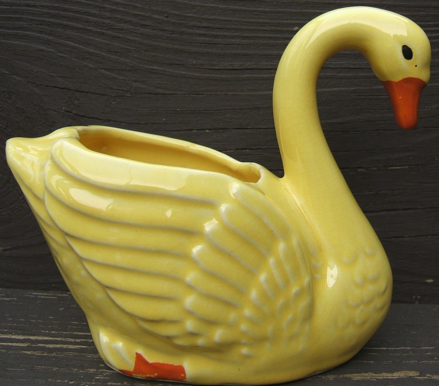Vintage Brush McCoy Pottery Swan Planter and 50 similar items